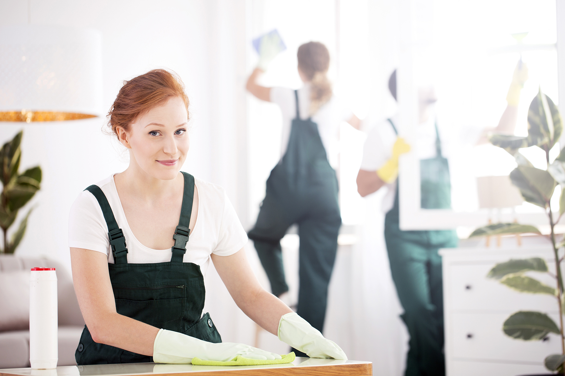 Equipe-nettoyage-Professionnel